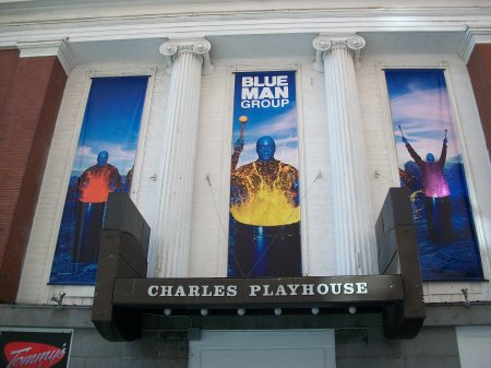 Blue Man Group Boston Tickets on September 01, 2013 at Charles Playhouse Boston
