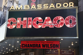 Chicago - The Musical New York Tickets on September 01, 2013 at Ambassador Theatre New York
