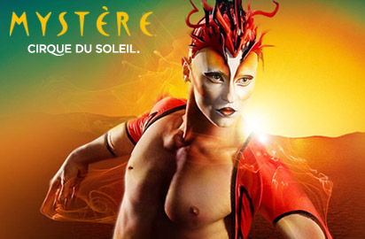 Cirque du Soleil - Mystere Las Vegas Tickets on August 31, 2013 at Mystere Theatre Las Vegas