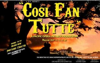 Cosi Fan Tutte San Francisco Tickets on July 01, 2013 at War Memorial Opera House San Francisco