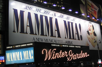 Mamma Mia! New York Tickets on October 20, 2013 at Winter Garden Theatre New York
