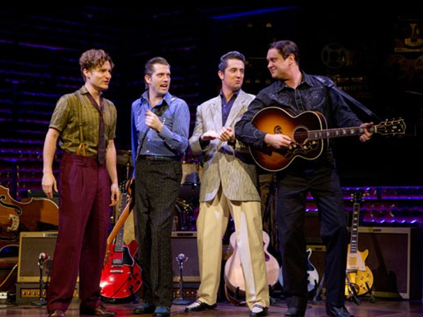 Million Dollar Quartet Las Vegas Tickets on September 01, 2013 at Harrah's Showroom Las Vegas