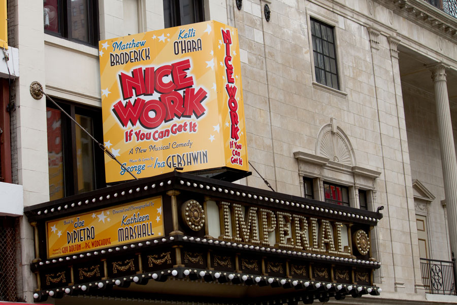 Nice Work if You Can Get It New York Tickets on June 15, 2013 at Imperial Theatre New York