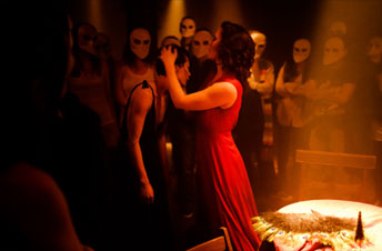 Sleep No More New York Tickets on June 01, 2013 at The Mckittrick Hotel New York