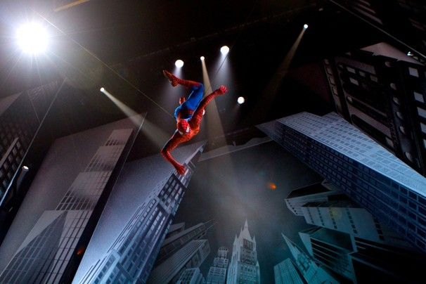 Spider-Man: Turn Off the Dark New York Tickets on December 22, 2013 at Foxwoods Theater New York