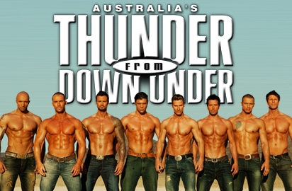Thunder From Down Under Las Vegas Tickets on June 30, 2013 at Thunder From Down Under Theatre Las Vegas